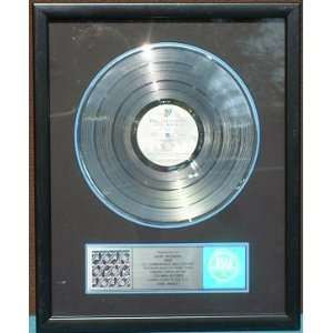 Rolling Stones Steel Wheels RIAA Platinum Record Award Office