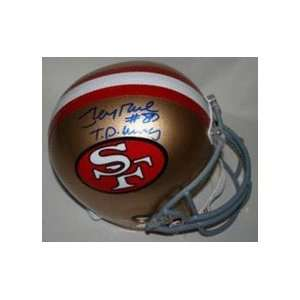 Jerry Rice Autographed San Francisco 49ers Riddell Full Size Replica