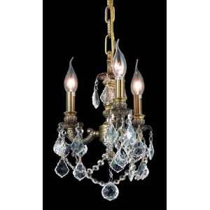 9103D10AB Elegant Lighting Lille Collection lighting