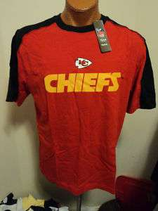 Reebok NFL Kansas City Chiefs Draft Pick Mens Shirt L