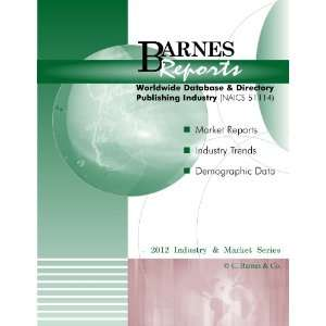 Publishing Industry Industry & Market Report Barnes Reports Books