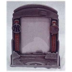MLB NEW YORK YANKEES YANKEE STADIUM PEWTER PICTURE FRAME