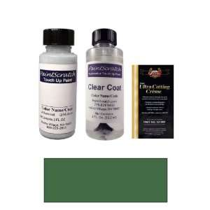Oz. Shale Green Metallic Paint Bottle Kit for 2001 Chrysler Town and
