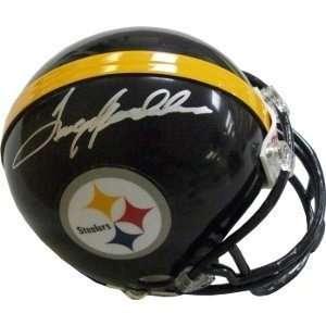 Terry Bradshaw Pittsburgh Steelers NFL Hand Signed Mini