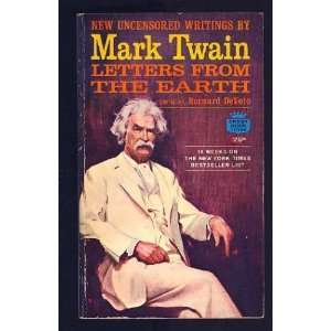 Mark Twain Letters from the Earth Author   Author  Books