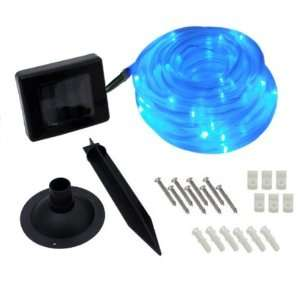 Solar 50 LED Rope Light  Blue Case Pack 12   787329 Patio