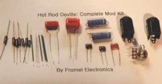 Fender Hot Rod DeVille Complete Mod Kit by Fromel