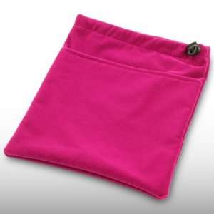 BLACKBERRY PLAYBOOK DARK HOT PINK SOFT CLOTH POUCH CASE BY