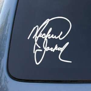 MICHAEL JACKSON SIGNATURE   Vinyl Decal Sticker #1916  Vinyl Color