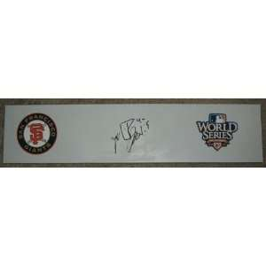 Madison Bumgarner Autographed San Francisco Giants World