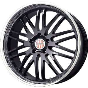 Victor Equipment Lemans Gloss Black Machined Wheel (18x9.5/5x130mm)