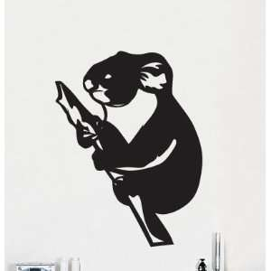 Vinyl Wall Art Decal Sticker Australian Koala Bear