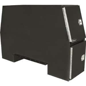 Buyers Products Steel Heavy Duty Backpack Truck Box   Black, 85in.L x