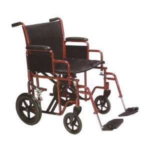 Heavy Duty Transport Chair 22 Seat Health & Personal