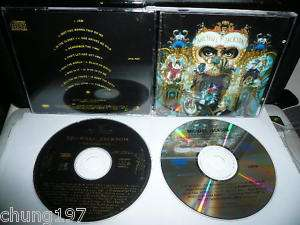 MICHAEL JACKSON DANGEROUS + BONUS REMIXES 2 CD RARE