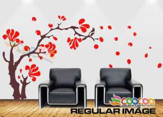 Wall Decor Decal Sticker Removable large magnolia tree