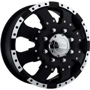 Type 023 Matte Black Wheel with Diamond Cut (16x6/8x5.5) Automotive