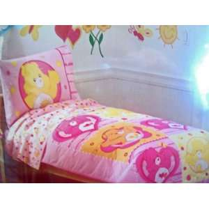 Care Bears 4 Piece Toddler Bedding Set