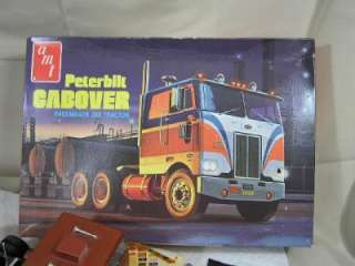 AMT Built Up PETERBILT CABOVER PACEMAKER 352 TRACTOR Truck Model Kit
