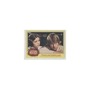 1977 Star Wars (Trading Card) #154   Princess Leia