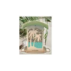 New Perky Pet Wb Seaside Feeder Faux Sand Texture Finish