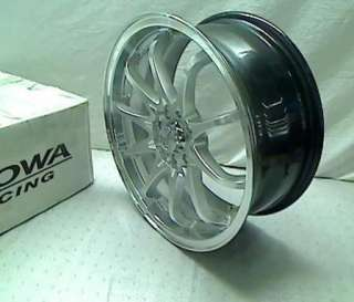 Kyowa Racing Series 206 Hyper Silver   17 x 7 Inch Wheel TADD