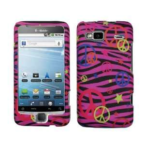 Rubberized Pink Black Zebra Pink Purple Yellow Orange Colorful Peace