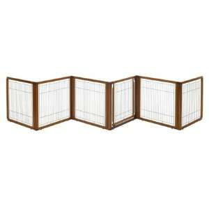 Wood Pet Gate 3 in 1 6 Panel