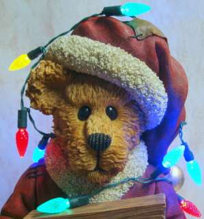 BOYDS BEARS Wensel Tangleton RESIN Christmas 4016660