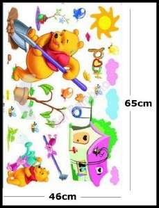 WINNIE THE POOH   Removable Wall Stickers   Home Decor Modern Art Fun