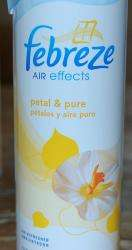 Febreze Air Effects Petal & Pure Air Freshener Spray