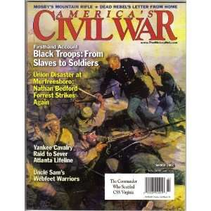 Americas Civil War Magazine March 2002 (Volume 15 Number 1