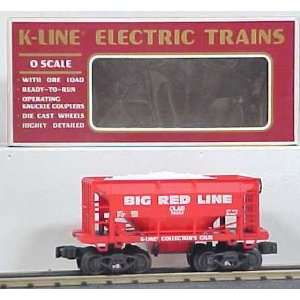 K Line K90006 KCC 1994 Big Red Line Ore Car/Box Toys