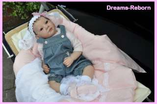 realistic reborn big baby girl doll from **Dreams Reborn**
