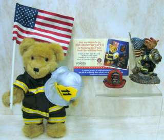 BOYDS BEARS Firefighter Mcbruin RESIN 9 11 1E 4026023