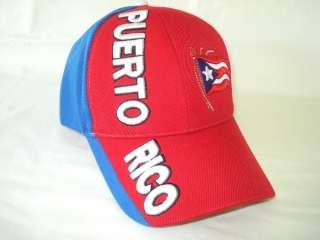 PUERTO RICO RICAN UNISEX BASEBALL ADJUSTABLE CAPS HATS GIFTS SOUVENIRS