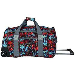 World Tamarak Carry On Rolling Duffel Bag