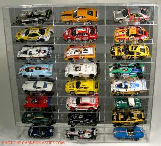 32 Slot Car Display Case fits fly 24 Comp