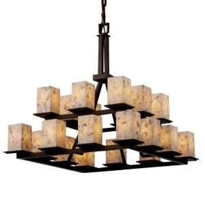 Alabaster Rocks Montana Two Tier Chandelier by Justice