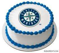 Seattle Mariners Edible Image Icing Cake Topper