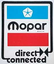 Mopar Direct Connected Plymouth Dodge Hemi Chrysler T