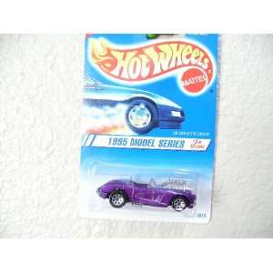 Hot Wheels 58 Corvette Coupe 1995 Model Series Collector