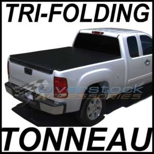 04 12 Nissan Titan 5.5ft Short Bed TRI FOLD Tonneau Cover
