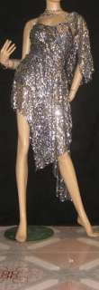 LATIN SALSA BALLROOM COMPETITION DRESS M15