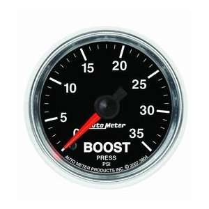 Auto Meter 3804 GS 2 1/16 0 35 PSI Mechanical Boost Gauge