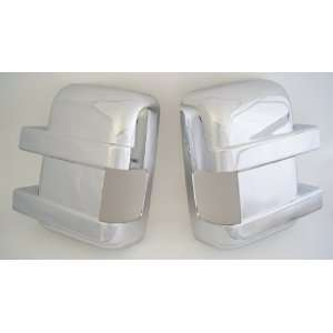 Ford F 250 / F 350 Super Duty Chrome Mirror Cover Set With Turn Signal