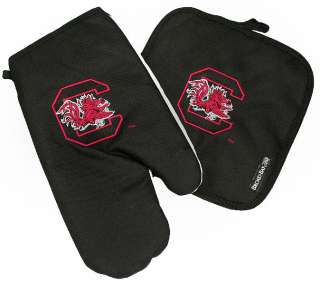 South Carolina Gamecocks Logo Oven Mitt & Potholder Set