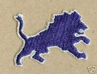 Detroit Lions NFL Football Iron On Patch Crest