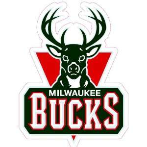Milwaukee Bucks Team Auto Window Decal (12 x 10  inch