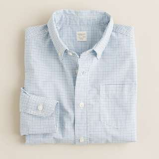 Boys tattersall shirt   washed favorite shirts   Boys shirts   J